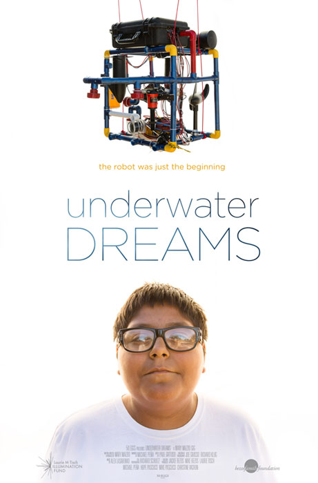 "Undocumented high school students enter a robotics competition, facing off against engineering powerhouses like MIT, and won the competition in the documentary ""Underwater Dreams,"" one of two free public film screenings held during the Seventh Annual"